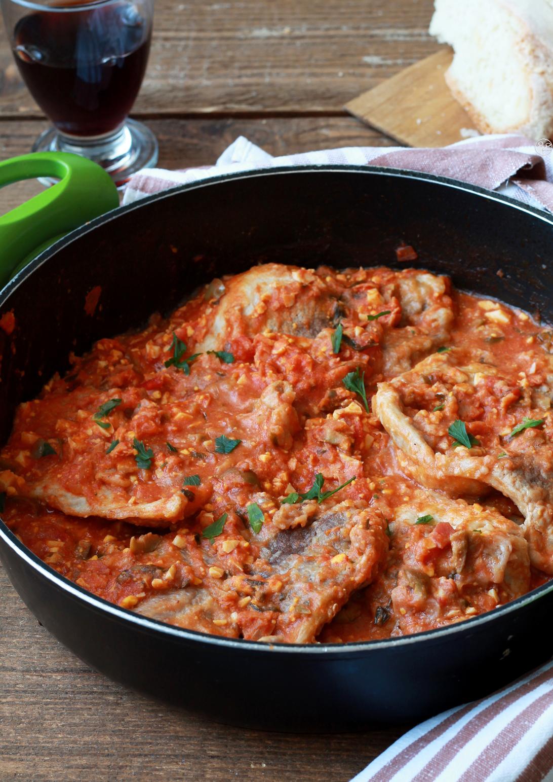Tranches de porc à la portugaise- La Cassata Celiaca