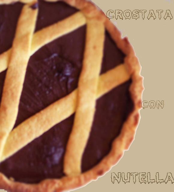 Crostata con la crema di nocciole senza glutine con videoricetta - La Cassata Celiaca