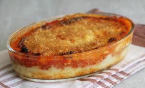 Gâteau de pommes de terre et viande hachée - La Cassata Celiaca