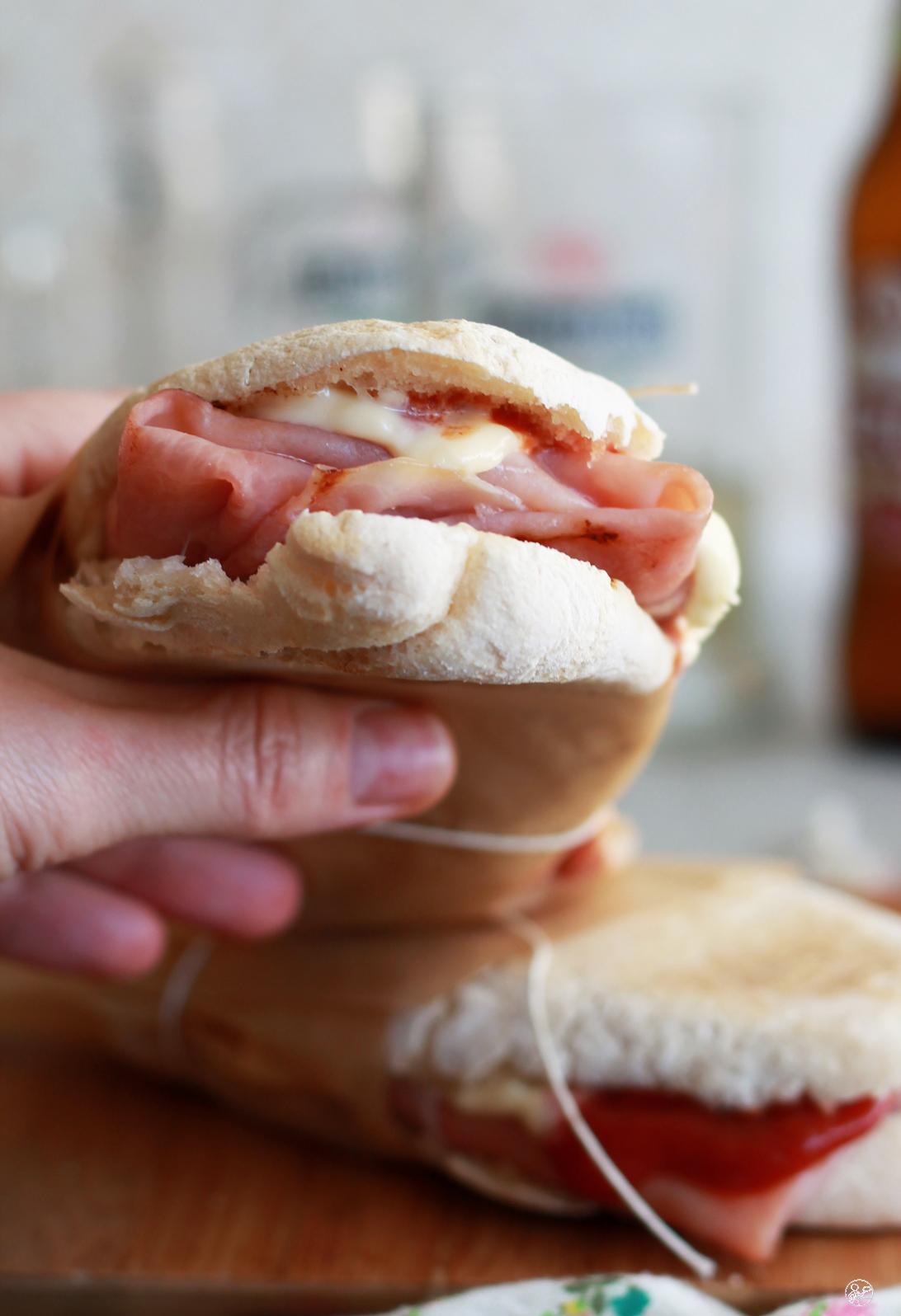 Panino al cartoccio senza glutine - La Cassata Celiaca
