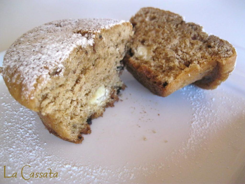 Muffins al caffè senza glutine - La Cassata Celiaca