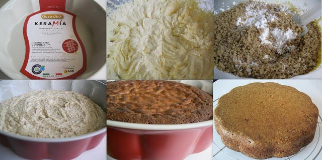 Torta di noci senza glutine - La Cassata Celiaca