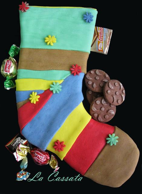 """Gâteau """"Chaussette"""" pour l'Epiphanie sans gluten - La Cassata Celiaca"""