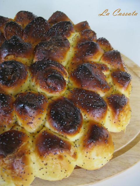 Brioche in fiore (senza glutine) - La Cassata Celiaca