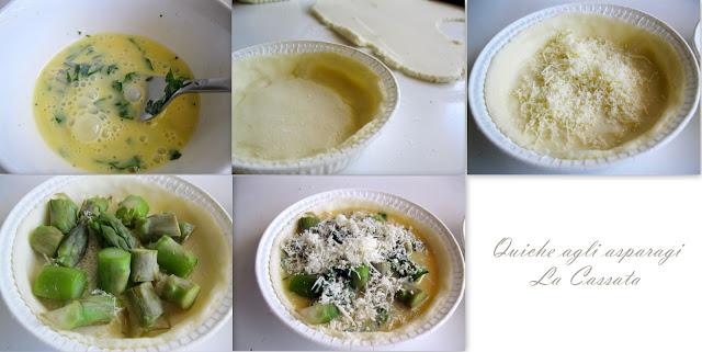 Quiche agli asparagi (per tutti e per celiaci) - La Cassata Celiaca