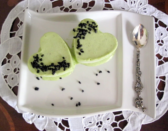 Parfait al pistacchio e chocaviar - La Cassata Celiaca