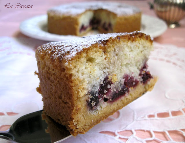 Torta di ciliegie senza glutine - La Cassata Celiaca