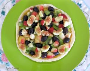 Crostata con orange curd e frutta fresca senza glutine e senza lattosio - La Casssata