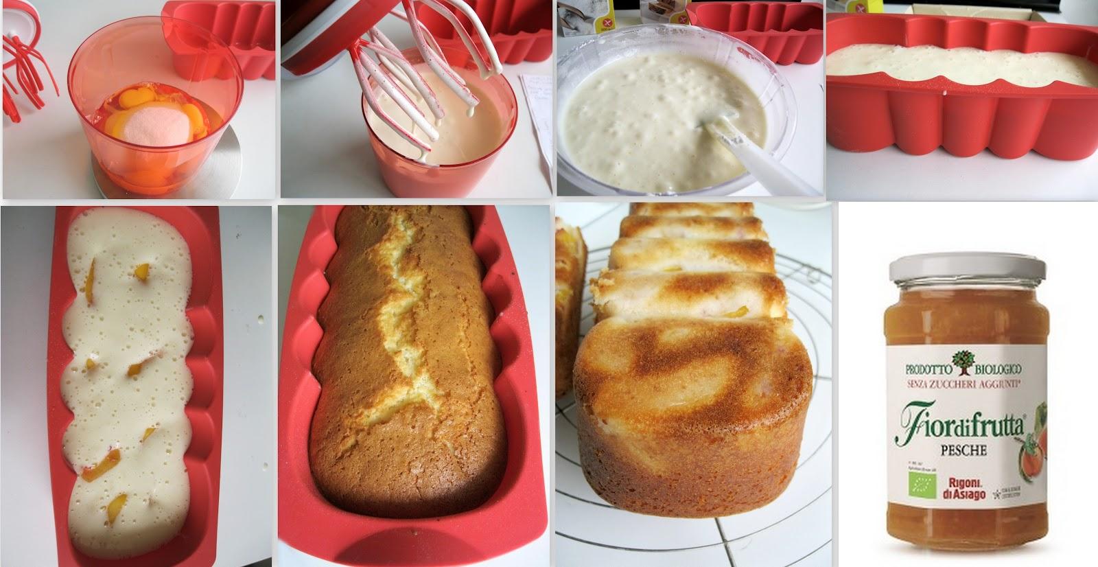 Plumcake alle pesche (anche senza glutine) - La Cassata Celiaca