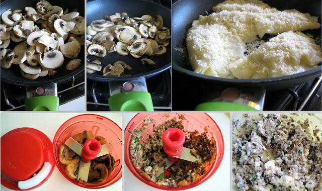 Ravioli avec ricotta et champignons sans gluten et en vidéo - La Cassata Celiaca