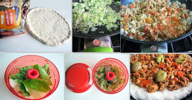 pizza turque mais sans gluten - La Cassata Celiaca