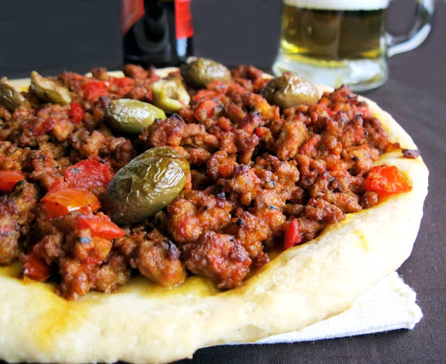 Lahmacun, la pizza turque mais sans gluten - La Cassata Celiaca