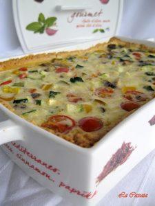 Quiche alle verdure senza glutine e con videoricetta - La Cassata Celiaca