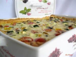 Quiche aux légumes sans gluten et avec vidéo - La Cassata Celiaca