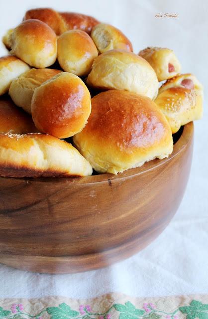Brioche salée sicilienne (avec gluten) ou rôtisserie - La Cassata Celiaca