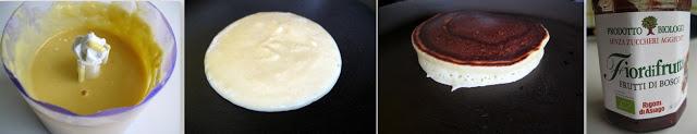Pancake alla zucca, farina di ceci e ricotta - La Cassata Celiaca