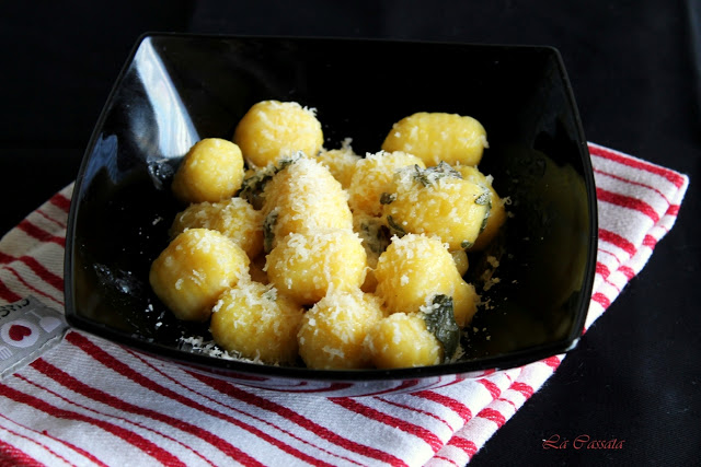 Gnocchi sans gluten au safran (la vidéo-recette) - La Cassata Celiaca