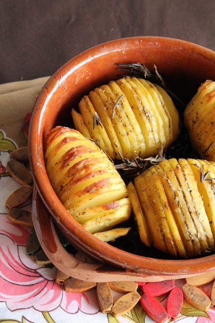 Pommes de terre Hasselback - La Cassata Celiaca