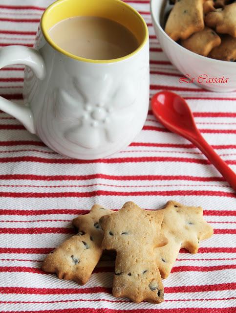 Biscotti al cioccolato senza glutine - La Cassata Celiaca