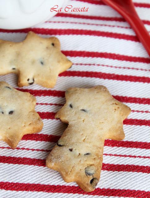 Biscotti con le gocce di cioccolato senza glutine - La Cassata Celiaca