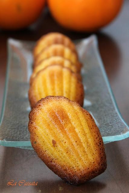 Madeleines sans gluten - La Cassata Celiaca