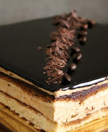 Gâteau Opéra sans gluten- La Cassata Celiaca