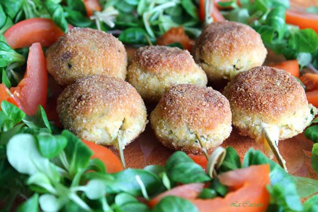 Polpettine di carciofi senza glutine - La Cassata Celiaca