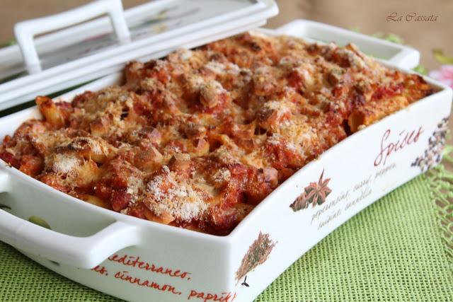 Pâtes sans gluten avec chou-fleur et jambon - La Cassata Celiaca