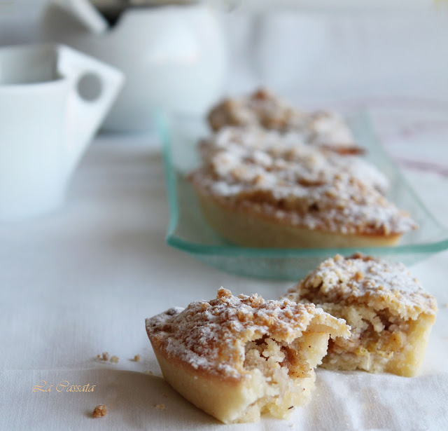 Mini crumble aux bananes sans gluten - La Cassata Celiaca
