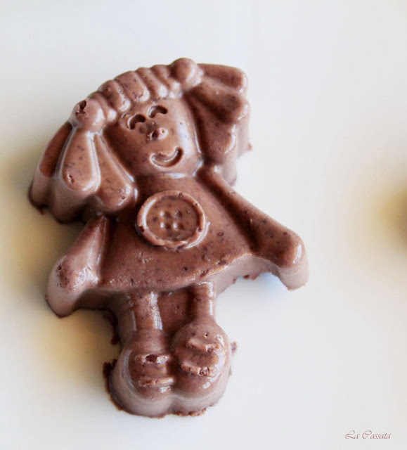 Panna cotta al cioccolato senza glutine - La Cassata Celiaca