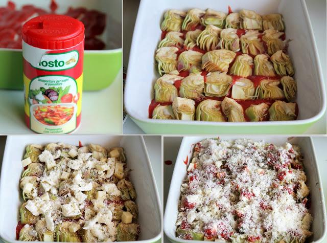 Parmigiana d'artichauts sans gluten - La Cassata Celiaca