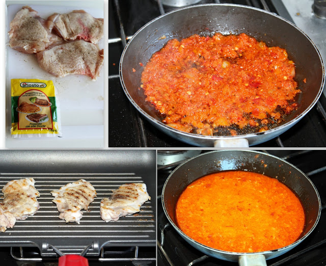 Pollo alla diavola con salsa diable - La Cassata Celiaca