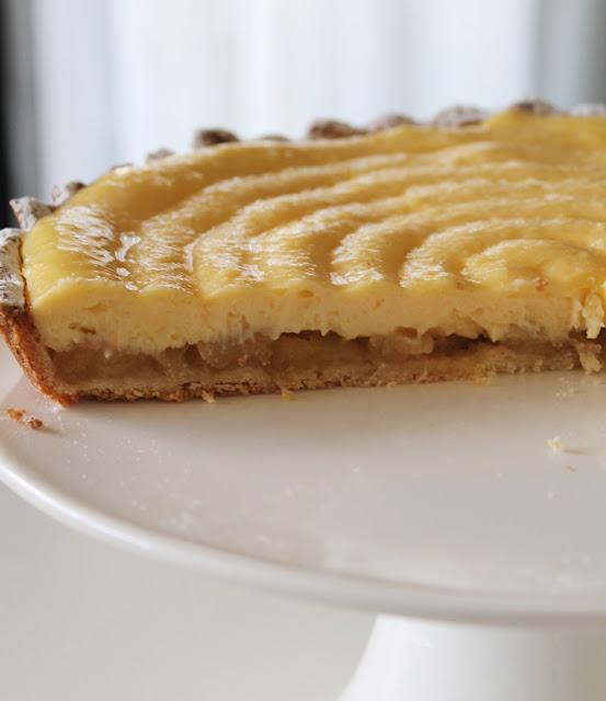 Tarte Pont Neuf sans gluten - La Cassata Celiaca