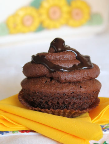 Cupcakes choco-café sans gluten - La Cassata Celiaca
