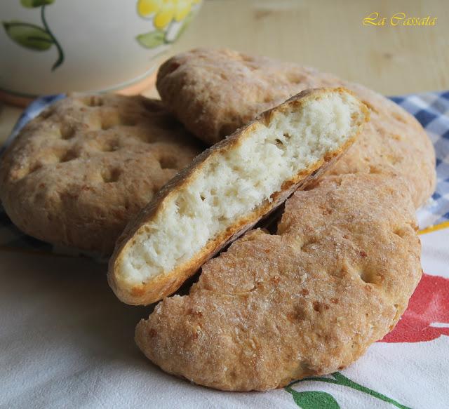 Focaccia sans gluten - La Cassata Celiaca