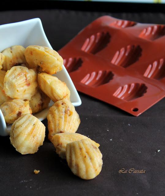 Madeleines sans gluten avec féta et tomates - La Cassata Celiaca