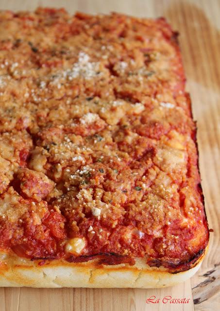 Le sfincione palermitano sans gluten - La Cassata Celiaca