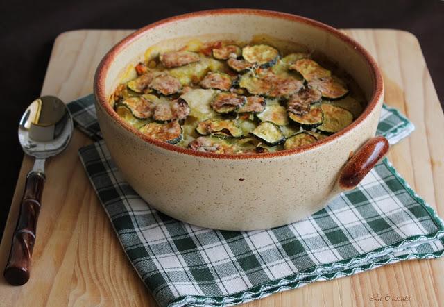 Terrine de moules, riz et pommes de terre - La Cassata Celiaca