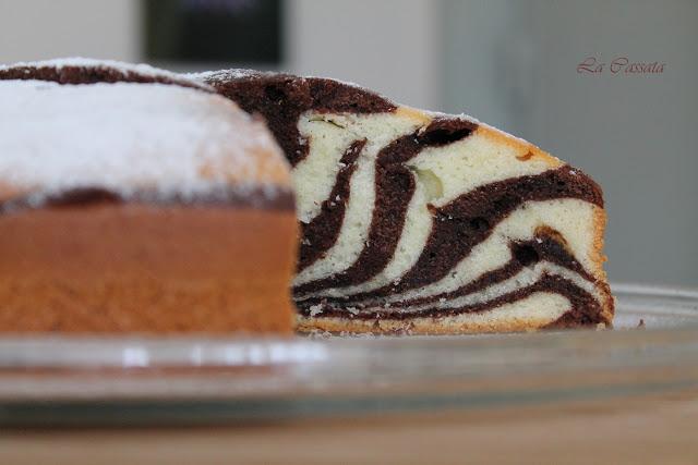 Torta zebrata (anche senza glutine) - La Cassata Celiaca