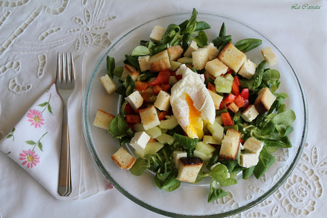 Cassalad, la Caesar salad à la mode de La Cassata - La Cassata Celiaca