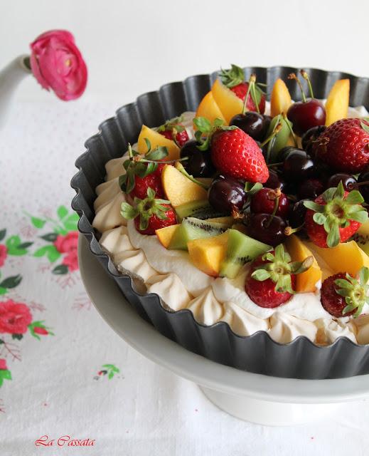 Pavlova sans gluten - La Cassata Celiaca