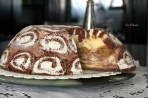 Torta gelato di Lorraine Pascal, ma senza glutine - La Cassata Celiaca