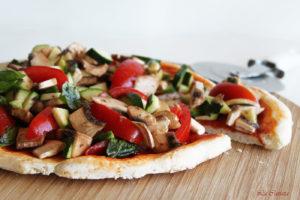 Pizza cruditè senza glutine