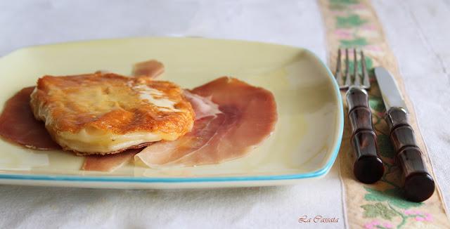 Caciocavallo silano au jambon cru - La Cassata Celiaca