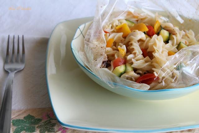 Pasta al cartoccio senza glutine, il tutorial - La Cassata Celiaca