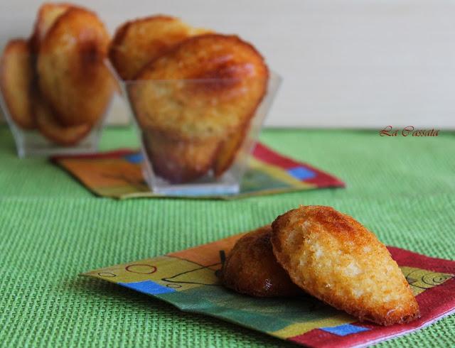 Madeleines al miele - La Cassata Celiaca
