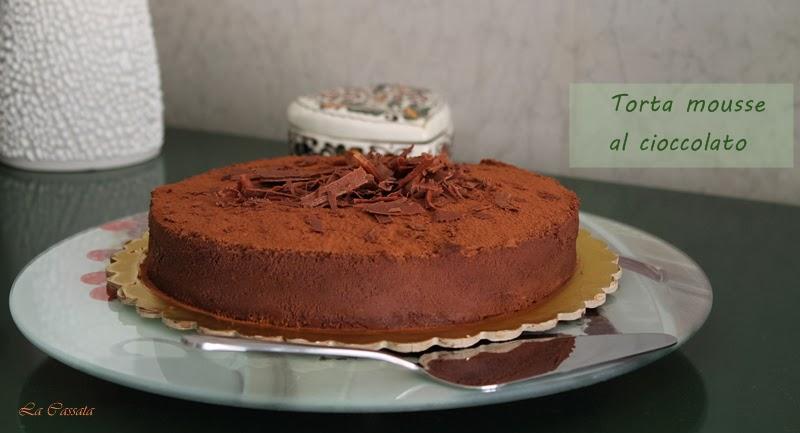 Entremets avec mousse au chocolat sans gluten - La Cassata Celiaca
