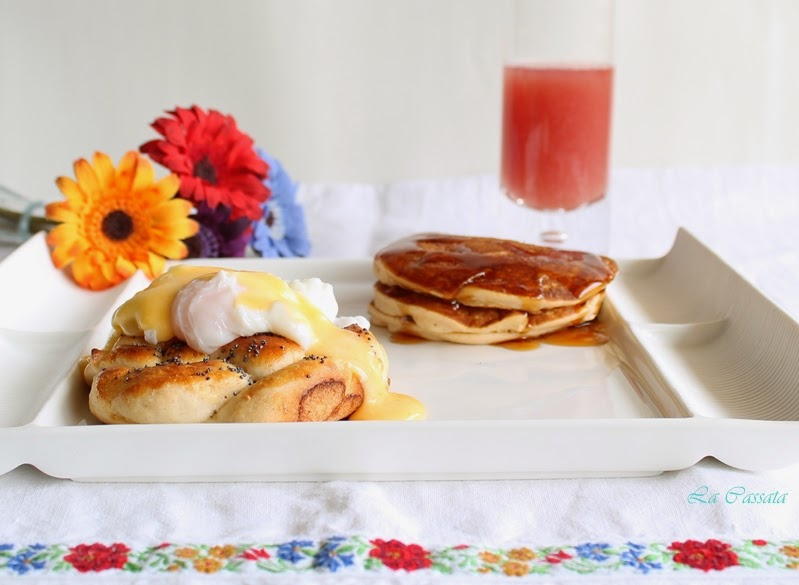 American Breakfast sans gluten - La Cassata Celiaca