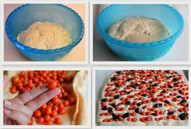 Focaccia barese di Anna Lisa sans gluten - La Cassata Celiaca