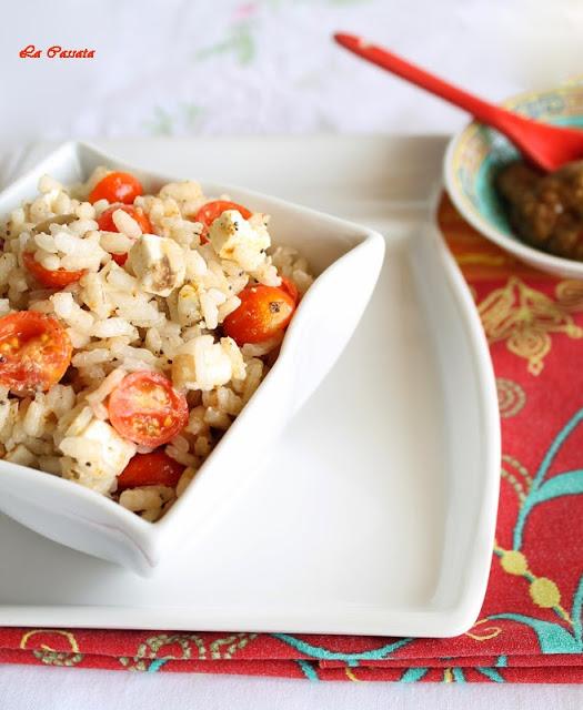Una salade de riz inusuelle sans gluten - La Cassata Celiaca